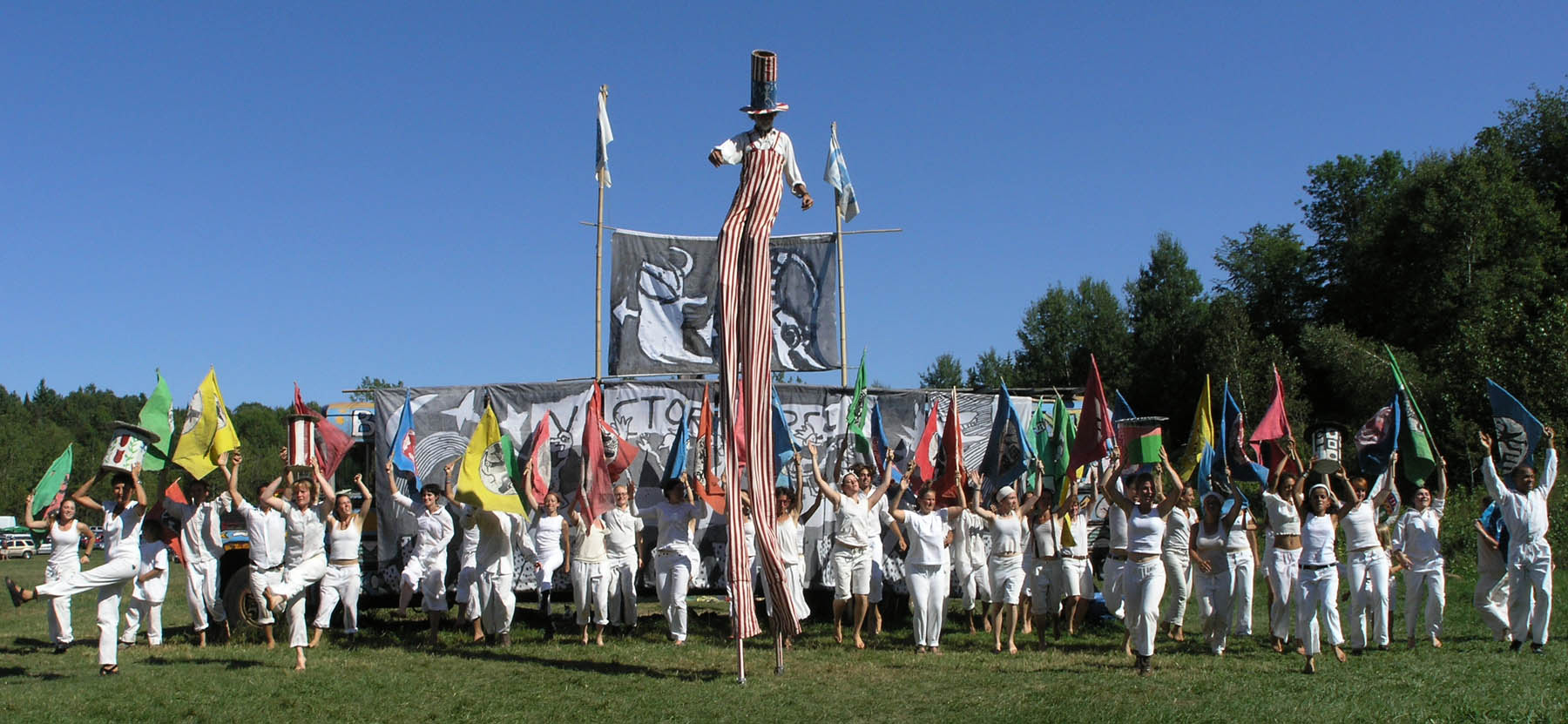 Photo of Bread and Puppet Theater